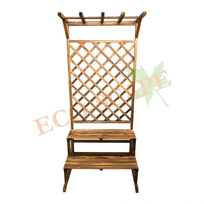 2 Layer Wooden Hanging Stand-0