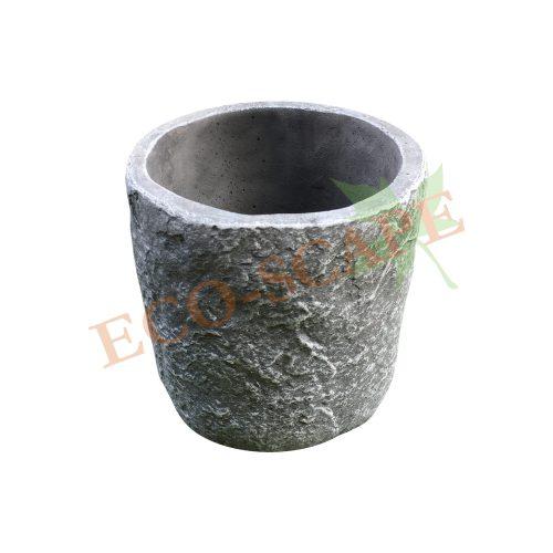 B07 Textured Cylinder Pot-0