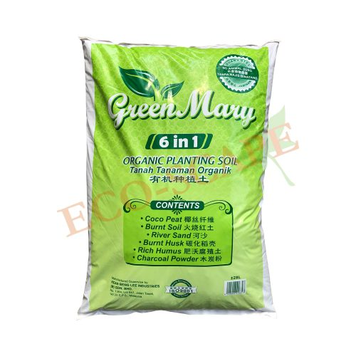 Green Mary 6 in 1 Potting Mix 28L-0