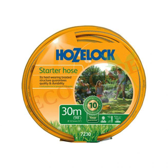 Hozelock Starter Hose Yellow 30m 7230-0