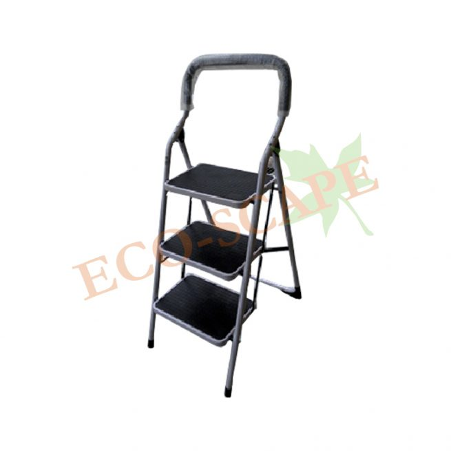 Laddermenn 3 Step Metal Ladder-0