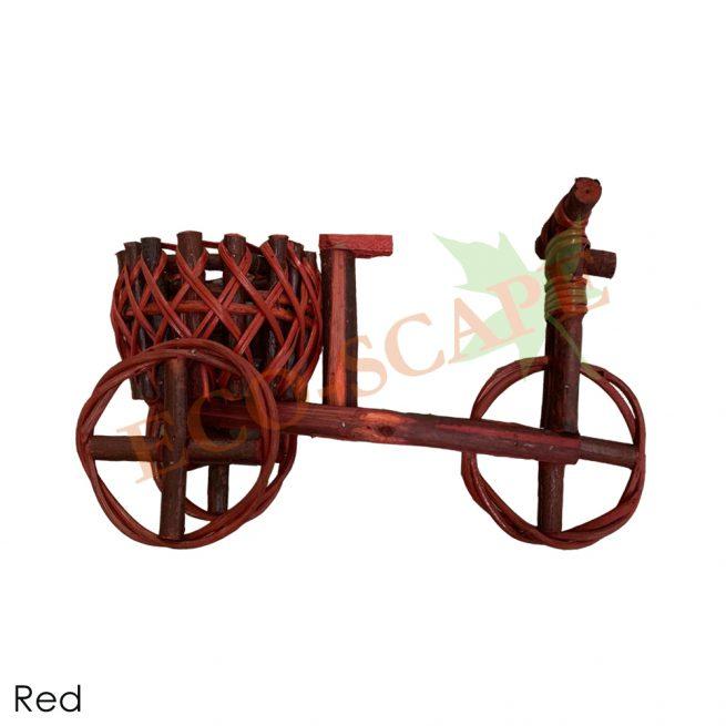 Rattan Bicycle Pot (S)-2074