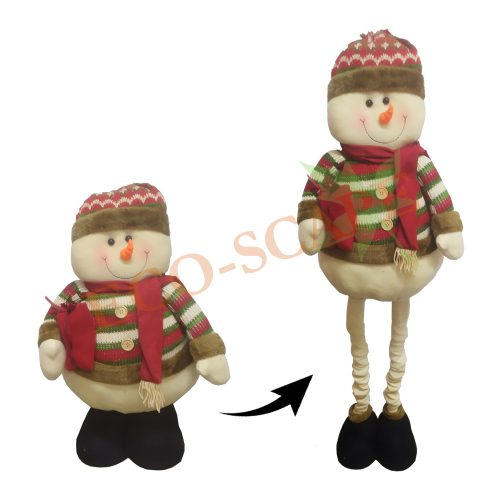 Snowman with Adjustable Legs-0