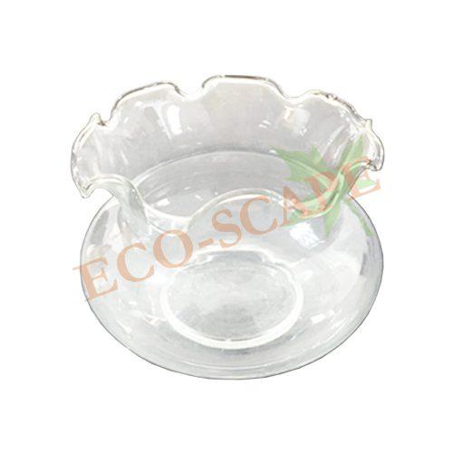 Wavy Glass Bowl-0